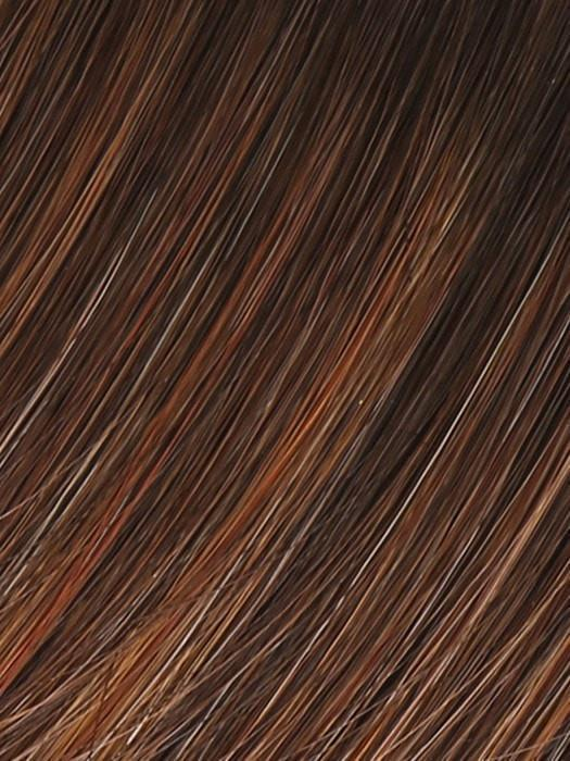 GL 8-29SS HAZELNUT | Coffee Brown with Soft Ginger Highlights