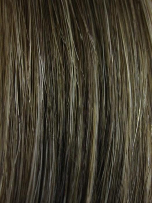 GOLDEN-BROWN with BLONDE HIGHLIGHTS