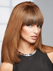 Hand-tied base paired with 100% human hair, great Toppiece