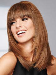 GAME CHANGER by Raquel Welch in R10 CHESTNUT | Rich Medium Brown with subtle Golden Brown Highlights Throughout