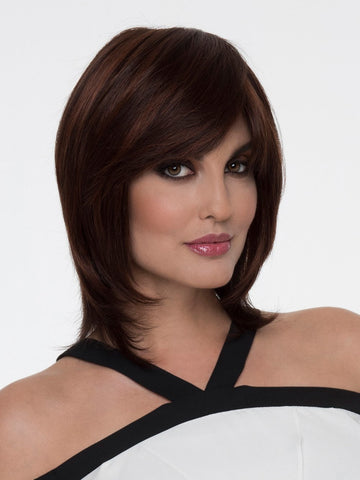 GRACE Wig by ENVY in DARK RED | Auburn with Brighter Red highlights