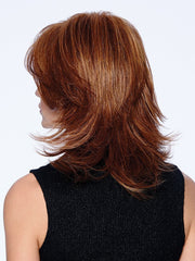 R3025S+ GLAZED CINNAMON | Medium Reddish Brown With Ginger Highlights On Top