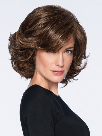 MODERN FLAIR by Hairdo in R829S+ GLAZED HAZELNUT | Medium Brown With Ginger Highlights On Top