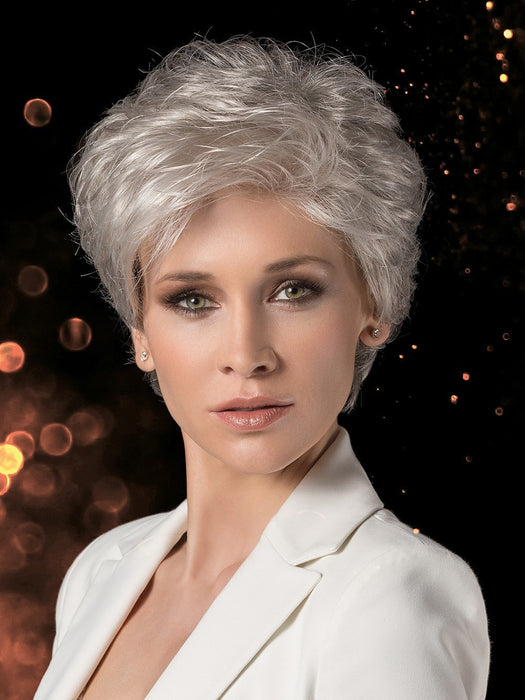 BEAUTY by Ellen Wille in SNOW MIX | Pure Silver White with 10% Medium Brown & Silver White with 5% Light Brown blend