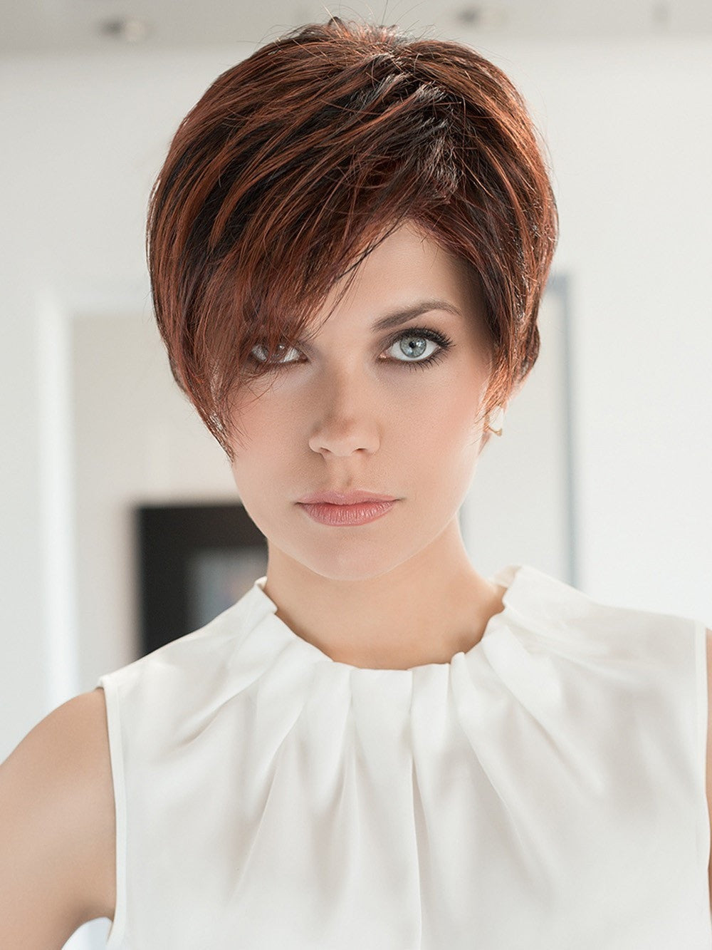 First wig by ellen wille hair society the for Ellen page hair color