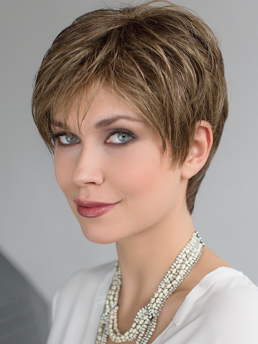 SELECT Wig by Ellen Wille in MOCCA MIX | Medium Brown, Light Brown, and Light Auburn blend