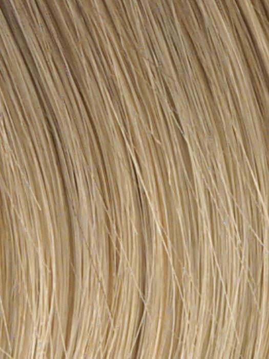 HT14/88H | Dark Blonde Evenly Blended with Pale Blonde Highlights