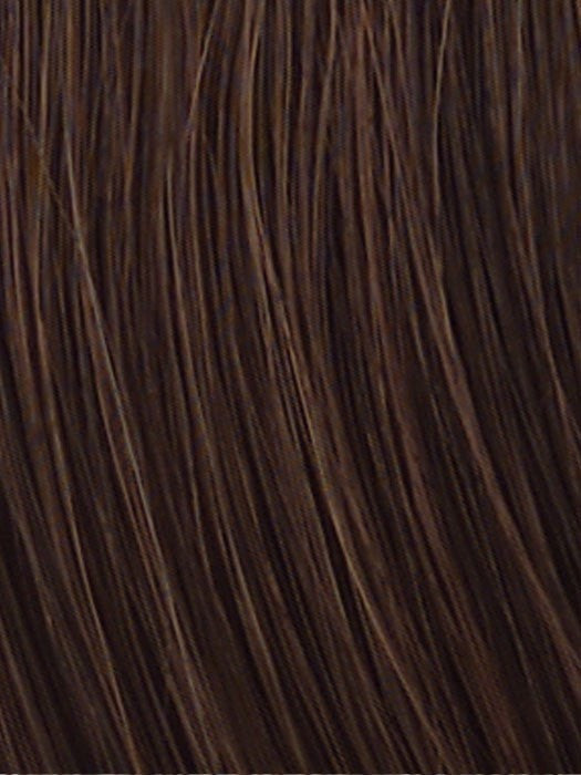 HT6/30H | Dark Medium Brown Evenly Blended with Medium Auburn Highlights