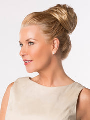 Wear the HONEY-DO BUN high or low!