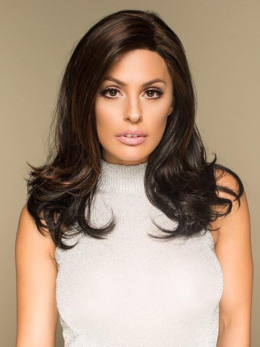 Miranda is a sophisticated wig with long layers that make a powerful statement.