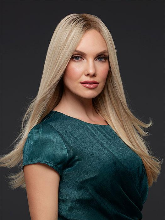 BLAKE PETITE by JON RENAU in FS17/101S18 PALM SPRINGS BLONDE | Lt Ash Blonde w/ Pure White Natural Violet, Shaded w/ Dk Natural Ash Blonde