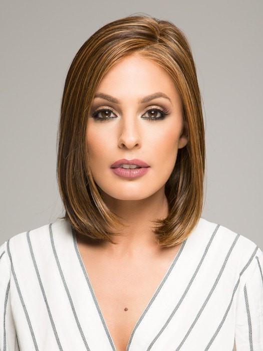 This classic chin length bob can be worn as it comes ready to wear or styled with heat, thanks to HD heat defiant fiber
