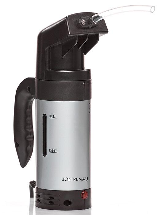 Handheld wig steamer by Jon Renau