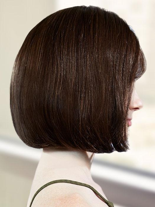 Platinum 107 by LOUIS FERRE in 8/32 GINGER BROWN | Brown with Auburn Highlight Blend