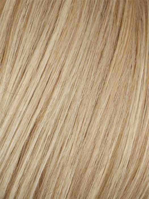 GOLDEN WHEAT MIST | Medium Blonde Streaked with Pale Gold Highlights