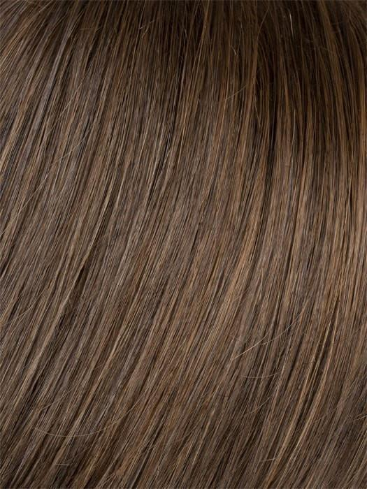 LIGHT BROWN | Rich Dark Brown with Coffee Brown Highlights all over