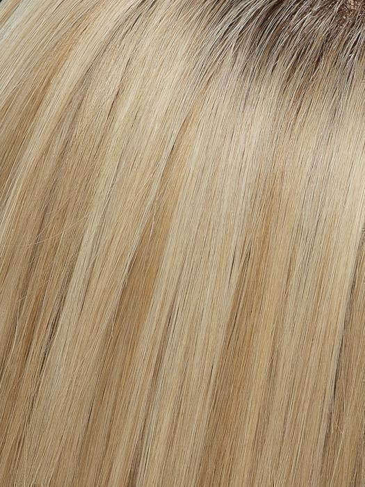 FS24/102S12 LAGUNA BLONDE | Light Natural Gold Blonde with Pale Natural Gold Blonde bold highlights, Shaded with Light Gold Brown