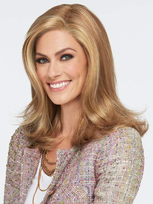 LOVE LOVE LOVE Wig by RAQUEL WELCH in R14/25 HONEY GINGER | Dark Blonde Evenly Blended with Ginger Blonde
