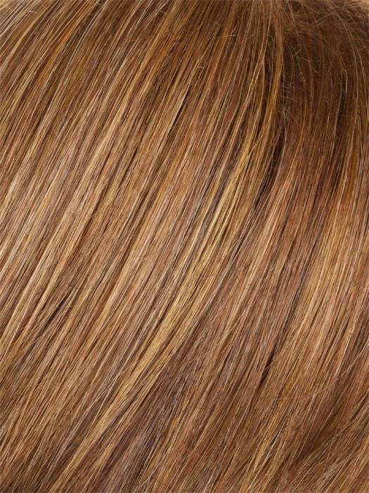 AUBURN MIST | Medium Reddish Brown with Subtle Copper Highlights
