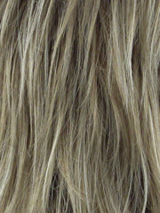 MOCHA H | Rooted Dark with Medium Ash Blonde with Platinum Blonde highlight