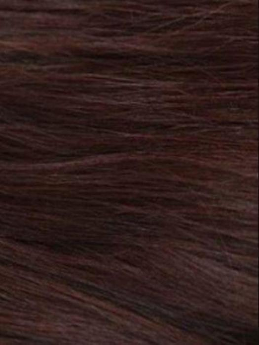 MULBERRY-BROWN | Dark chocolate and dark auburn blend with rusty auburn undertones