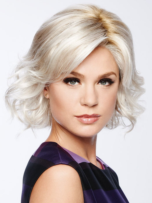 MODERN MOTIF Wig by GABOR in GL23-101SS SS SUN-KISSED BEIGE | Dark golden blonde base blends into multi-dimensional tones of lightest beige blonde
