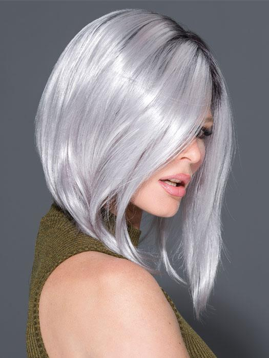 TAYLOR by RENE OF PARIS in Illumina-R | Dark Brownish purple rooted with silver