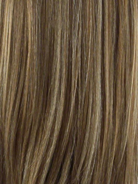 P2216 | SPECIAL COLOR - BLONDE PIANO BLEND - Chunky, side - by - side streaks of contrasting colors - Platinum Blonde + Light Auburn