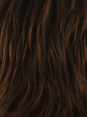 PAPRIKA-R | Light Auburn blended with Dark Auburn with Dark Brown roots