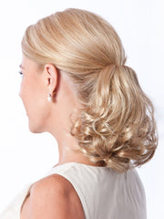 "Ponytail clip-on (4"" Claw Clip) Full Ponytail that Instantly adds Volume, Length and Bounce"