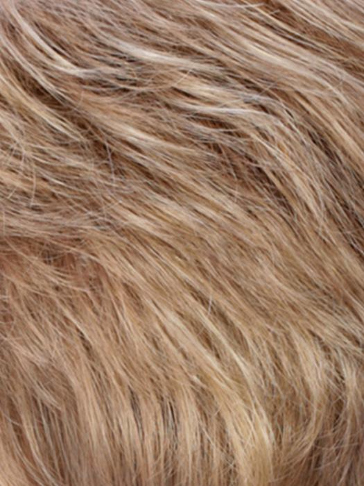 R10/24/80 | Medium Ash Brown with Pale Golden Blonde and Palest Blonde highlights
