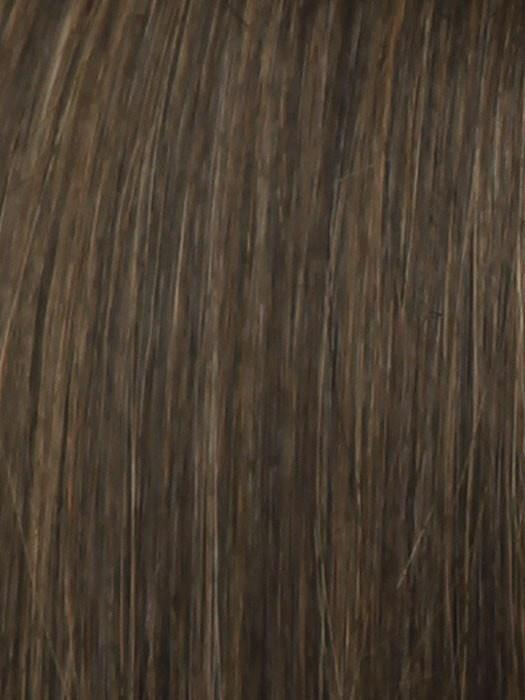 R10 CHESTNUT | Warm Medium Brown with Ginger Highlights on Top