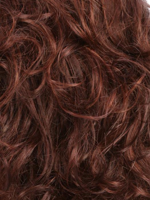 R133F | Dark Brown/Auburn/Bright Red Frost