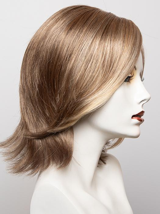 R13F25 PRALINE FOIL | Lightest Brown with Gold Blonde Highlights Around the Face