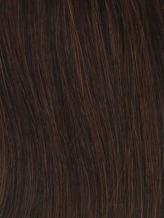 R2/31 COCOA | Dark brown with subtle warm highlights and Dark Brown roots
