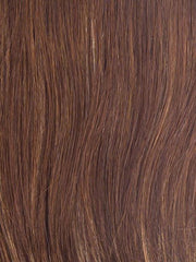 R3025S GLAZED CINNAMON | Medium Reddish brown with Ginger highlights on top