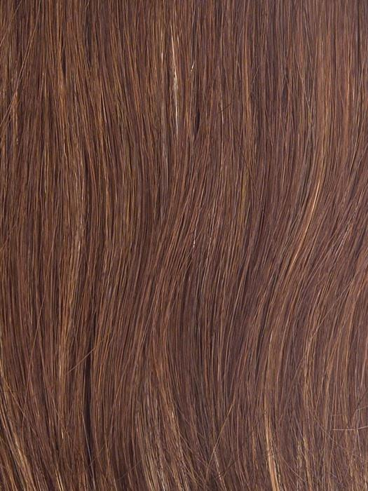 R3025S+ - Glazed Cinnamon - Medium Reddish Brown with Ginger hightlights