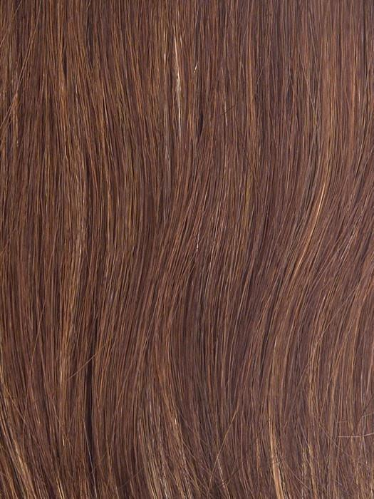 R3025S+ GLAZED CINNAMON | Medium Reddish Brown with Ginger Blonde highlights
