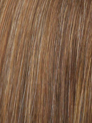 R3025 GLAZED CINNAMON | Medium Auburn with Ginger Blonde Highlights on Top