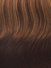 R3329S GLAZED AUBURN | Rich Dark Reddish Brown with Pale Peach Blonde highlights