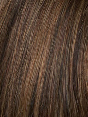 R3329S GLAZED AUBURN | Rich Dark Auburn with Pale Ginger Blonde Highlights