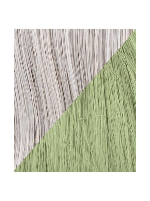 Color R56/60-GREEN = Silver tipped with Light Green