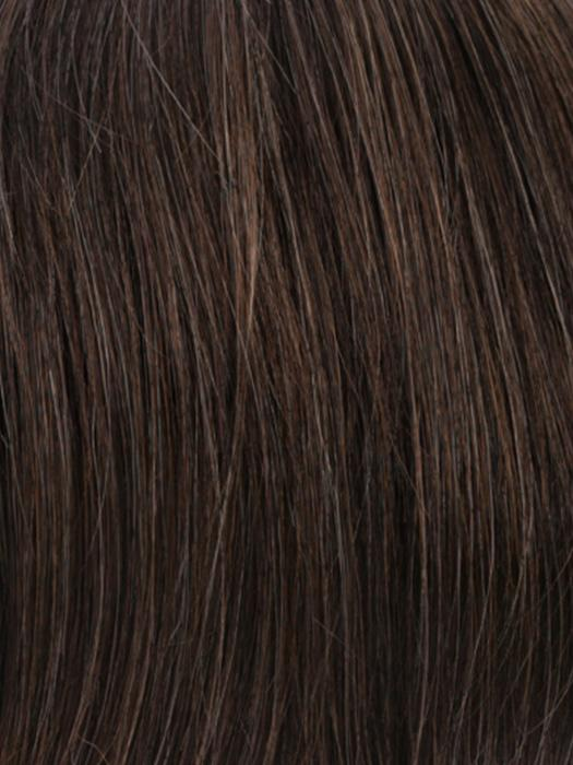 R6/12H | Chestnut Brown with Medium Ash Brown Highlights
