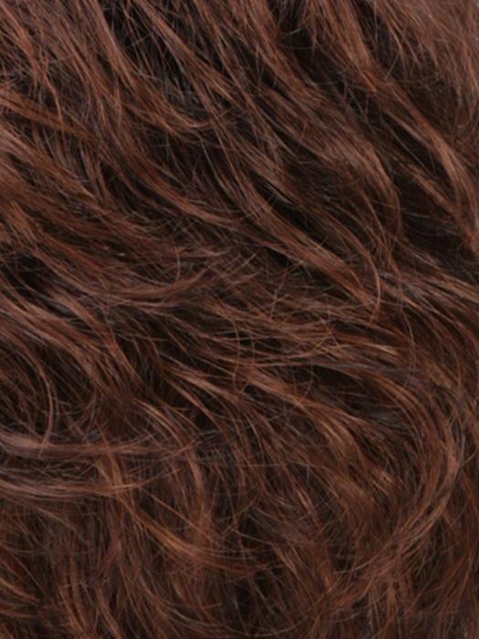 R6/30/33 | Chestnut Brown Blended With Medium and Dark Auburn