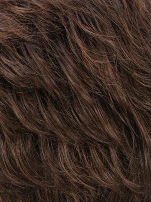 R6LF29 | Chestnut Brown Lightening to Bright Red Mix in Fron