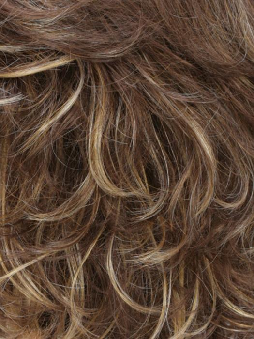 R8/26H | Golden Brown with Golden Blonde Highlights
