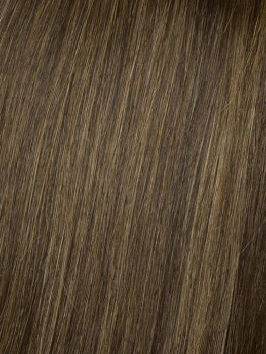 R9S GLAZED MAHOGANY | Warm Medium Brown with Ginger Highlights on Top