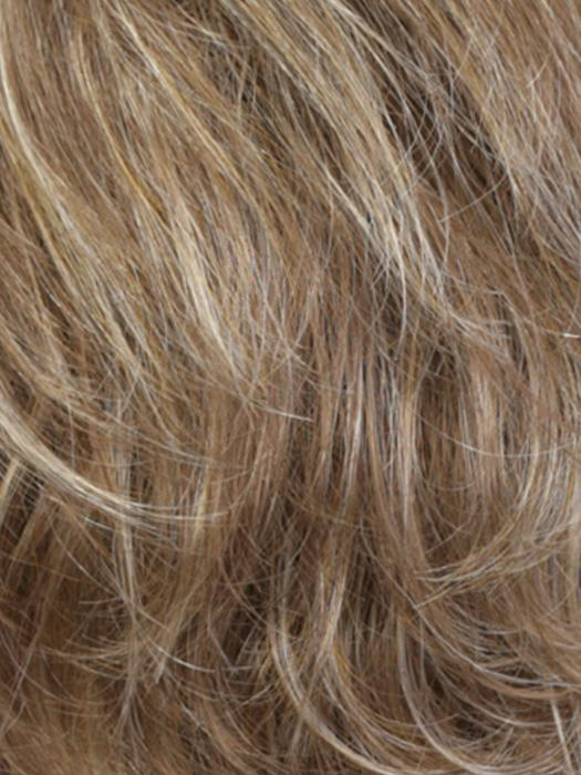 RH1226 | Light Brown with Fine Golden Blonde Highlights