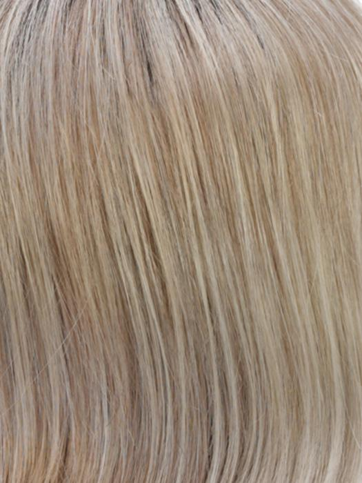RH1488RT8 | Dark Blonde with Lightest Blonde Highlights and Golden Brown Roots