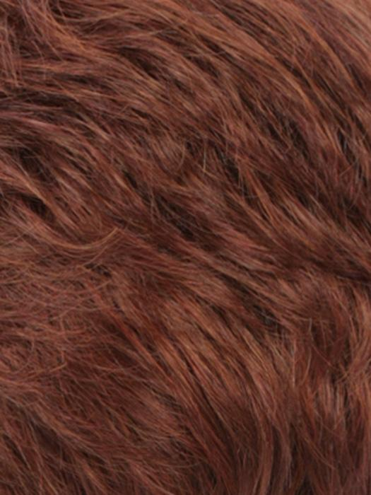 RH31 | Dark Auburn tipped w/3 Red Tones